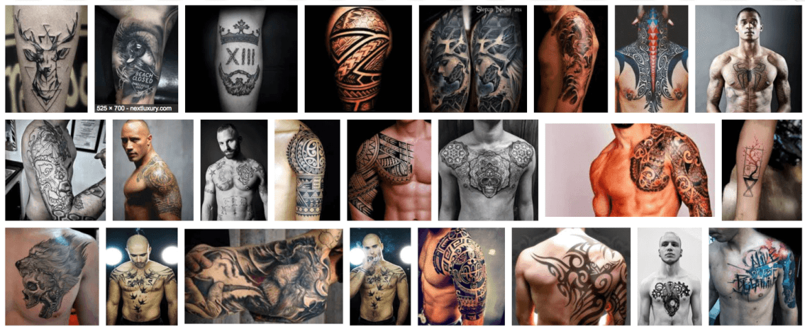 573c682bd 101 Cool tattoo designs for men – (sleeve, chest, leg etc all covered