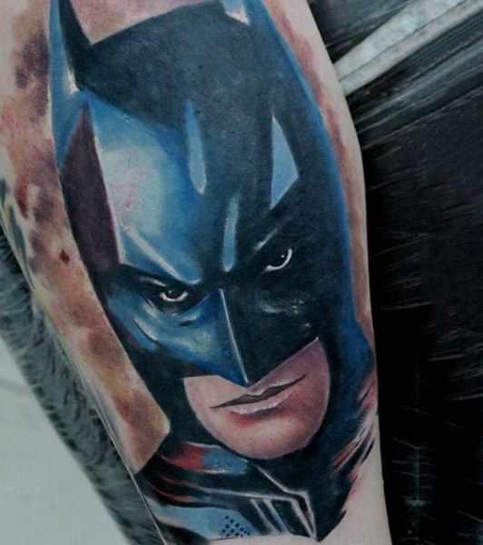 Cool Batman Arm Tattoo