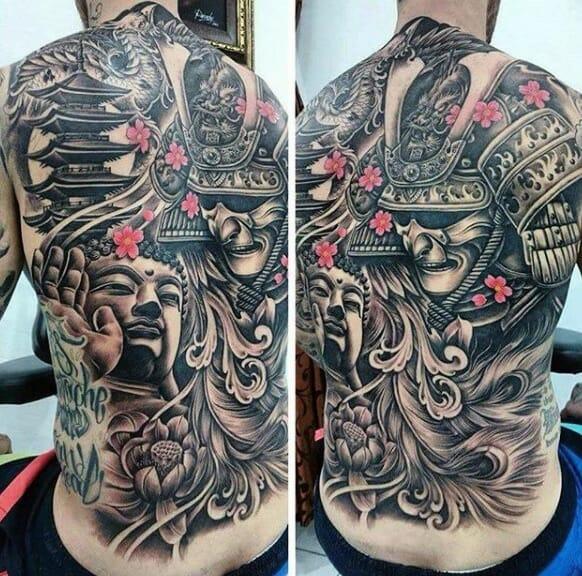 Lovely Oriental Tattoo