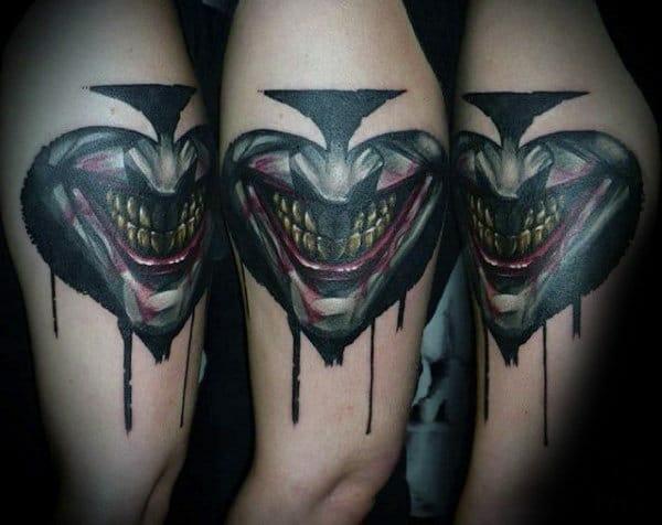 The Joker Spade Symbol Tattoo