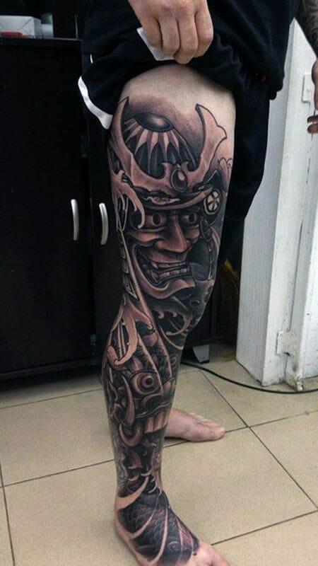 samurai leg sleeve