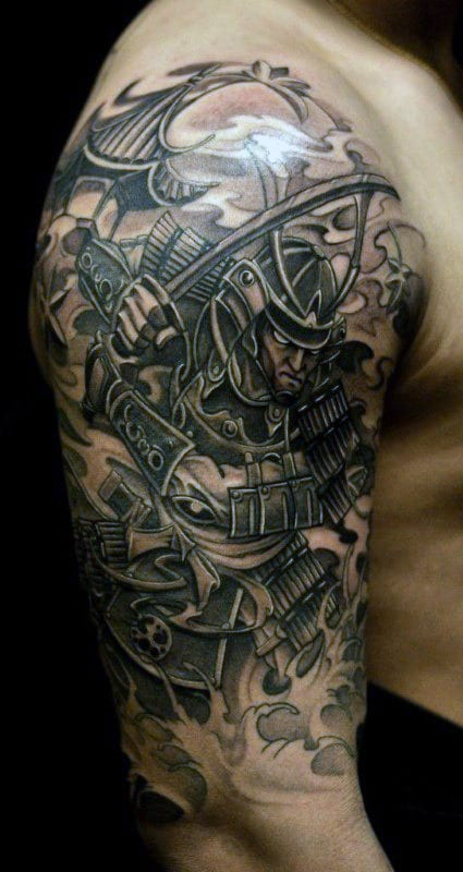 101 Samurai Tattoo Designs For Men