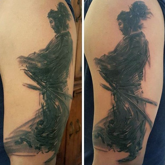 Samurai Tattoo Sleeve