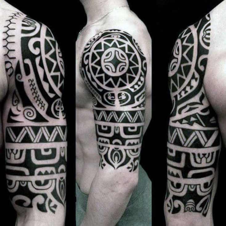 Hawaiian Tribal Arm Sleeve