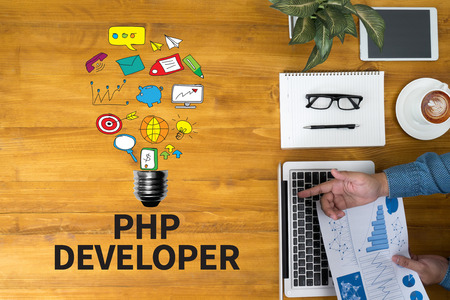image of php software development company