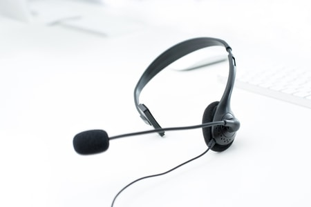 call center agent headphones for tele sales
