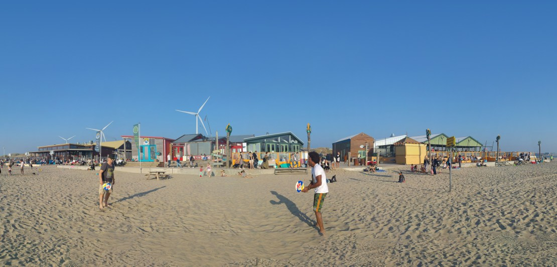 Outstanding strandpaviljoen Wijk aan Zee