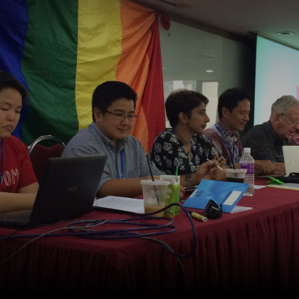 Discussing LGBTIQ issues with communities