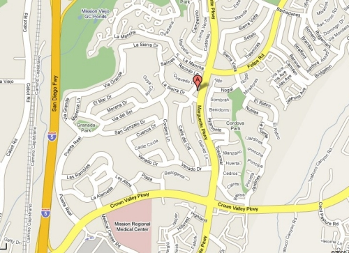 Map Ladera Ranch Communities