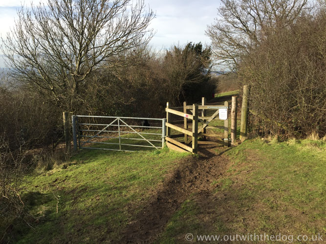 Blue Bell Hill Kissing Gate