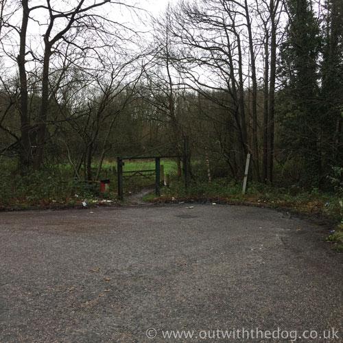 Round Wood Entrance