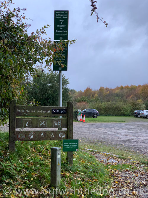 Lullingstone Country Park: Information sign