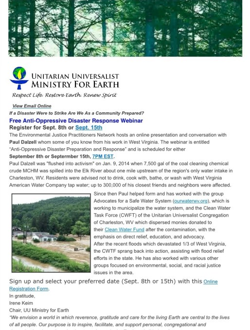 Earth Ministry