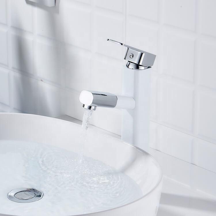 ouukey white faucet