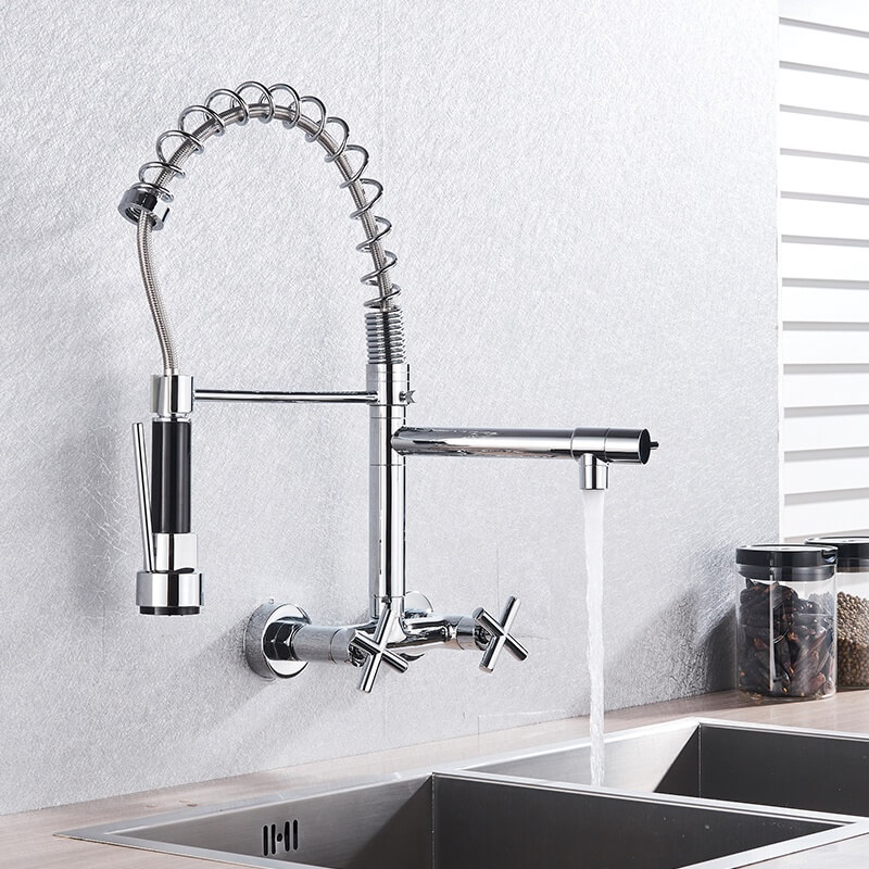 ouukey pull out kitchen faucet