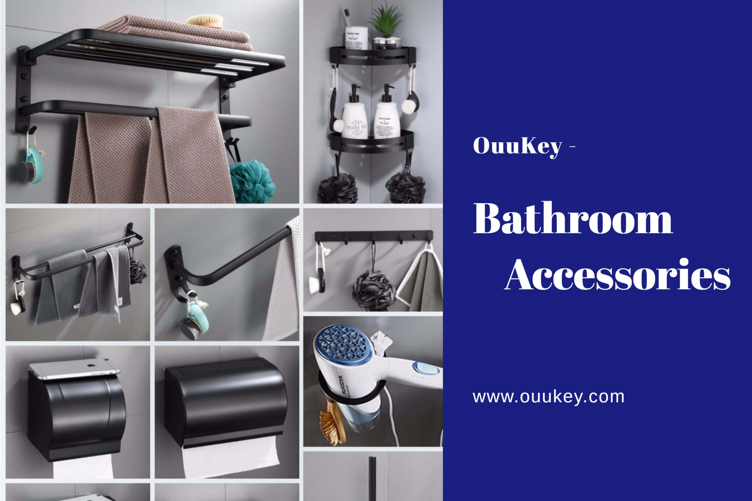ouukey market bathroom accessories manufacturer
