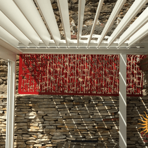 Moucharabiehs brise vue bambous