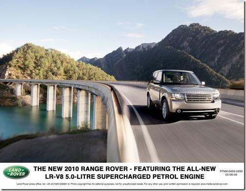 2010 Range Rover Official Press Photo