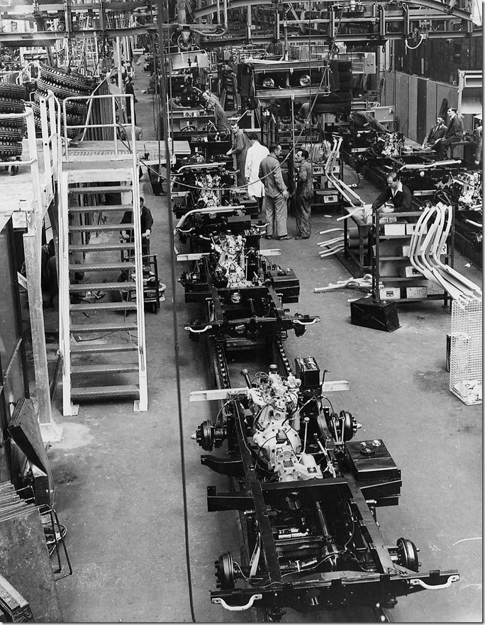 1950s Solihul Land Rover Production (1)