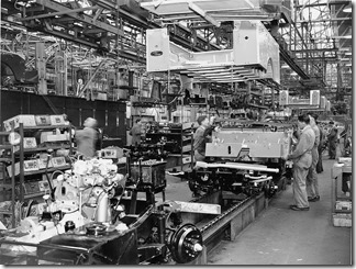1950s Solihul Land Rover Production (2)