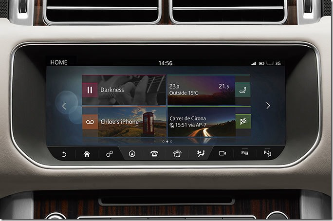 2017 Range Rover InControl Touch Pro (1)