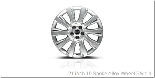 21 inch 10 Spoke Alloy Wheel Style 4