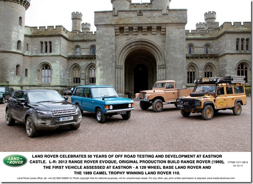 50 years at Eastnor Castle (1)