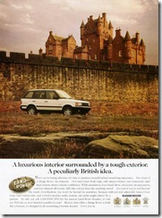 A luxurious interior surrounded by a tough exterior.  A peculiarly British idea.
