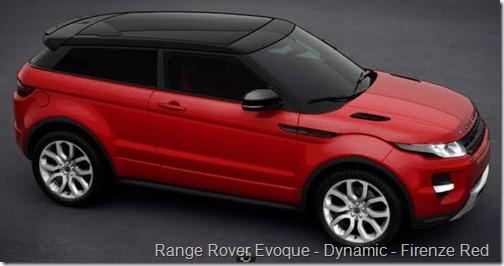 Range Rover Evoque - Dynamic - Firenze Red