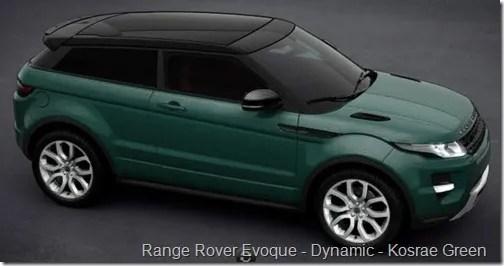 Range Rover Evoque - Dynamic - Kosrae Green