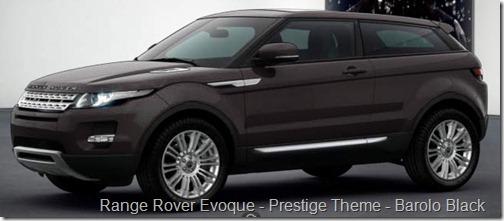 Range Rover Evoque - Prestige Theme - Barolo Black
