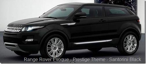 Range Rover Evoque - Prestige Theme - Santorini Black