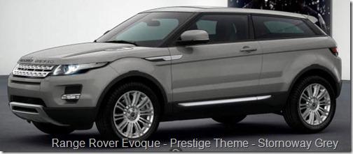 Range Rover Evoque - Prestige Theme - Stornoway Grey