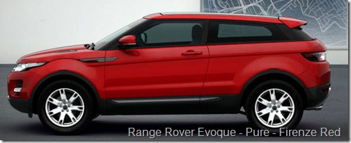 Range Rover Evoque - Pure - Firenze Red