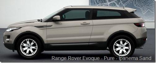 Range Rover Evoque - Pure - Ipanema Sand