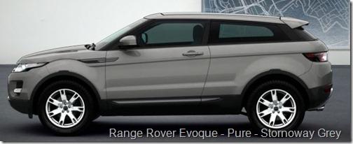 Range Rover Evoque - Pure - Stornoway Grey