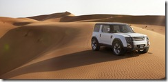 Dubai Front 3/4, Rear 3/4, Profile Dunes