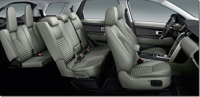 Land Rover Discovery Sport Interior - Seats (2)