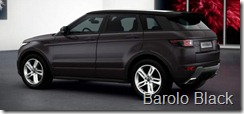 Range Rover Evoque 5-door Dynamic - Barolo Black