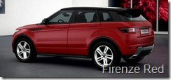 Range Rover Evoque 5-door Dynamic - Firenze Red