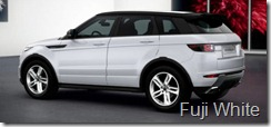 Range Rover Evoque 5-door Dynamic- Fuji White