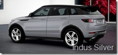 Range Rover Evoque 5-door Dynamic - Indus Silver
