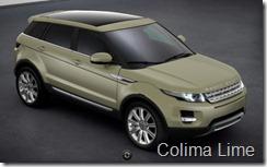 Range Rover Evoque 5-door Prestige - Colima Lime