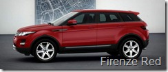 Range Rover Evoque 5-door Pure - Firenze Red