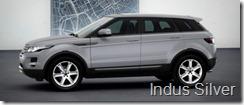 Range Rover Evoque 5-door Pure - Indus Silver