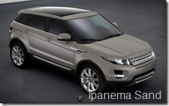 Range Rover Evoque 5-door Pure - Ipanema Sand