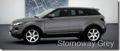 Range Rover Evoque 5-door Pure - Stornoway Grey