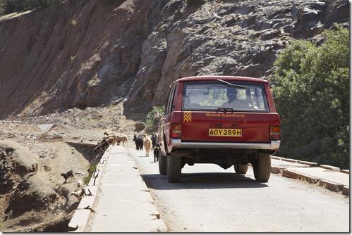 Range Rover - Velar Prototype in Morocco 2012 (1)