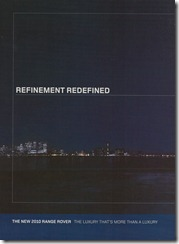 Refinement Redefined - Left