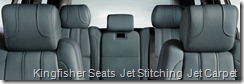 Kingfisher Seats  Jet Stitching  Jet Carpet